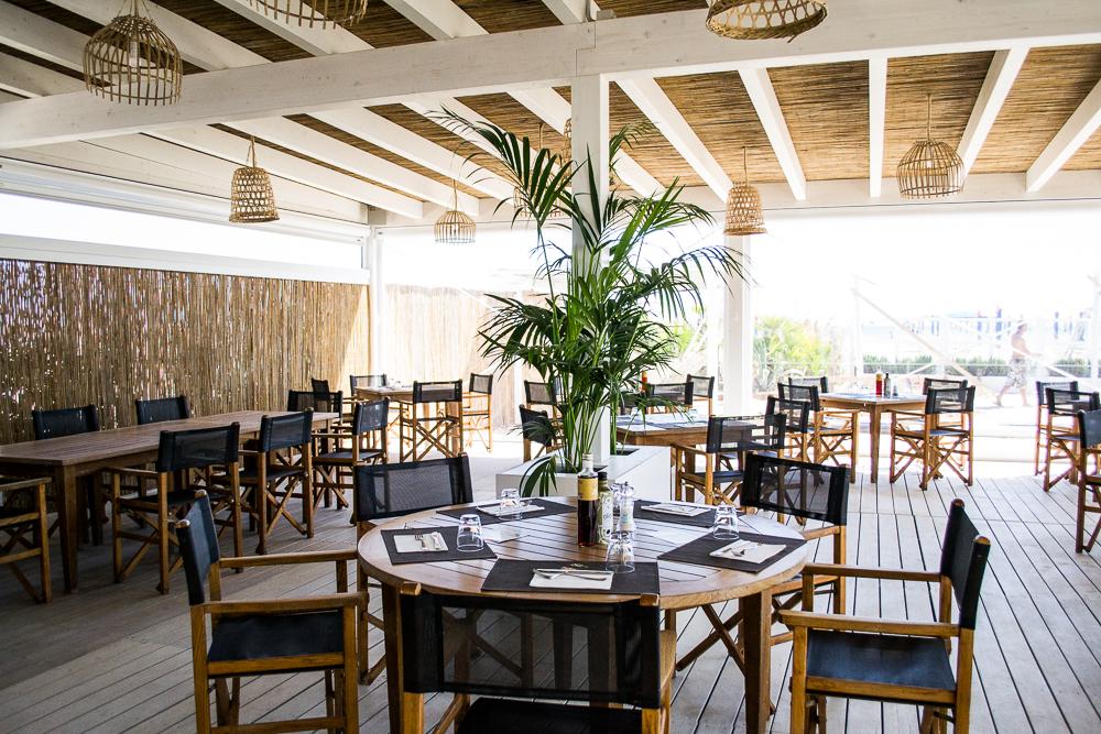 Calamare u il ristorante sulla spiaggia fantini club
