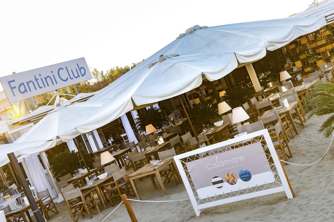 Calamare – il Ristorante sulla spiaggia Fantini Club