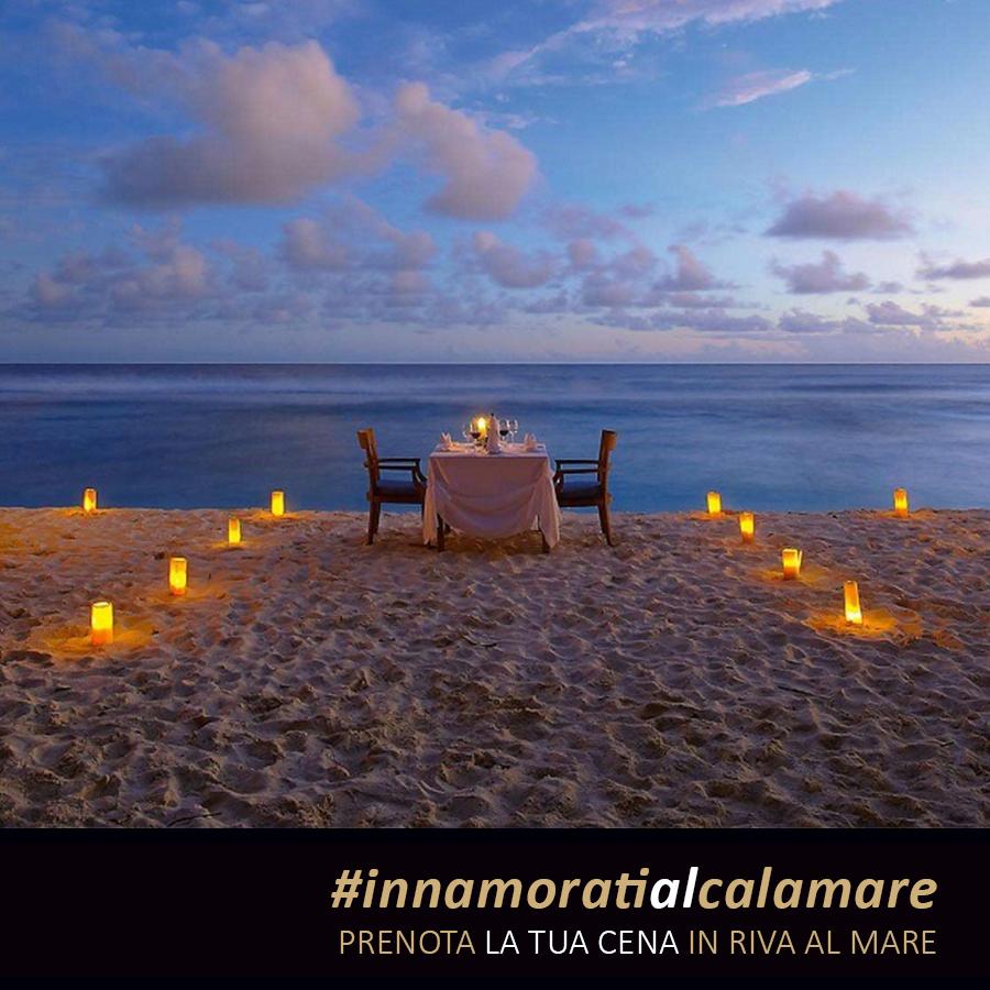 Calamare - prenota il tuo tavolo in riva al mare